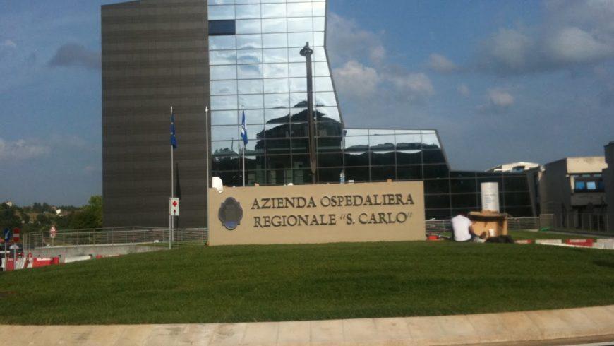 "Aggiudicazione gara Ospedale ""San Carlo"" (PZ)"